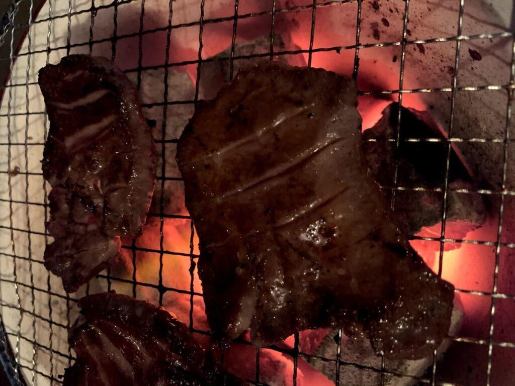 食べてっ亭の牛タンを購入してから焼き上げるまで